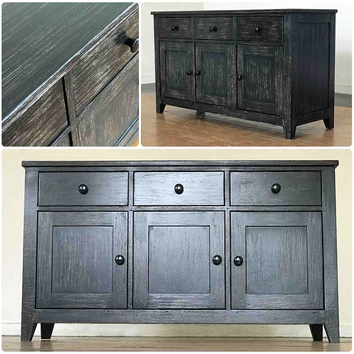 3 Drawer Buffet Table