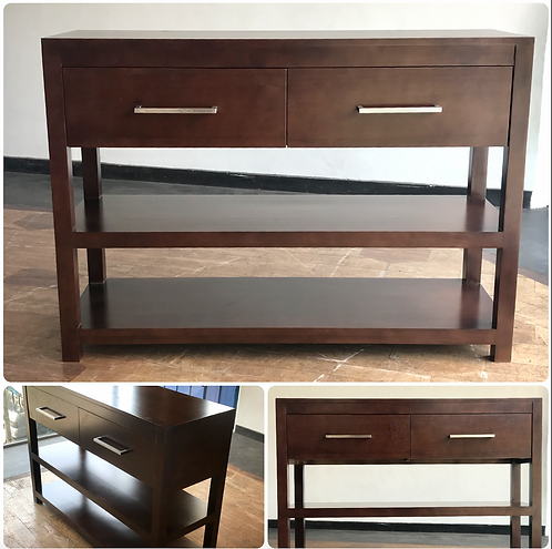 CONSOLE Table - 2 Drawers