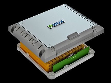 PBOX X5, baterias de litio,larga vida util, aplicada a la iluminacion solar