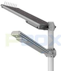 PBOX X5 Split, Poste solar
