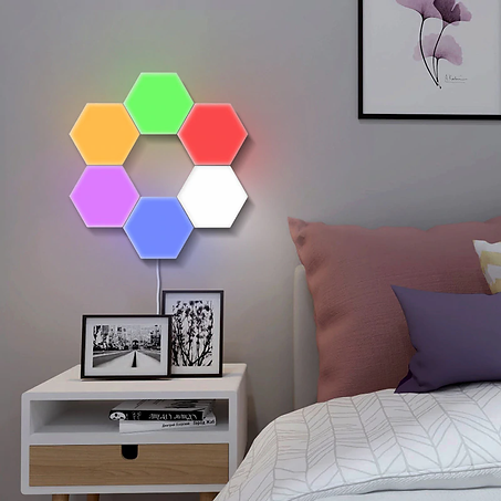 Painel led touch RGB