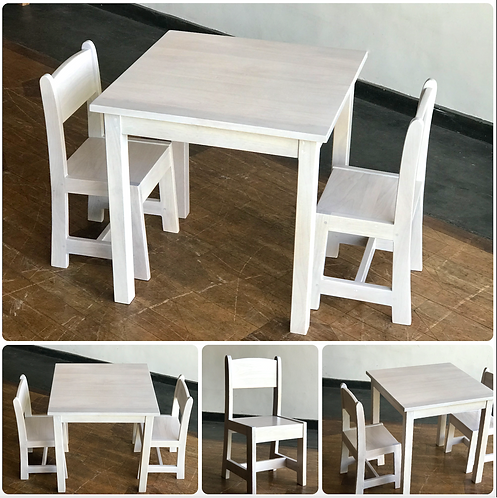 TODDLER Set - Table & 2 Chairs