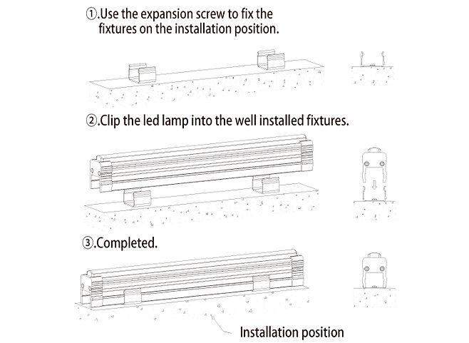 Metodo instalaçao lineal lights