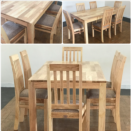 STANDARD Dining Set  Table & 6 Chairs