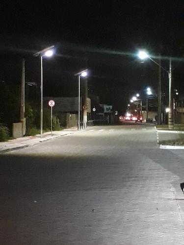 Iluminaçao solar em Itajai