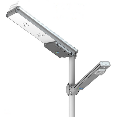 luminaria solar para poste