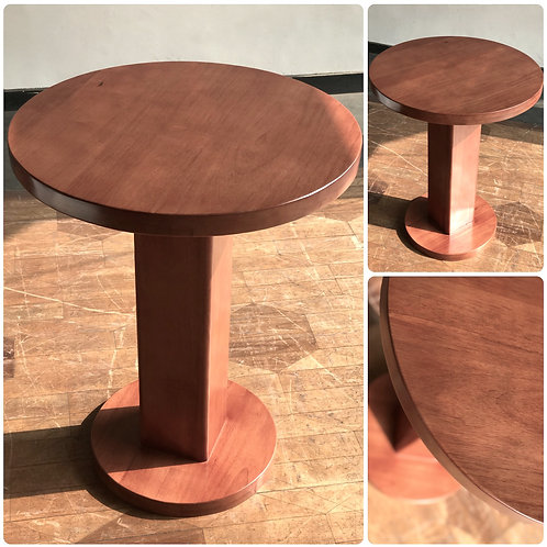 ROUND Snack Table