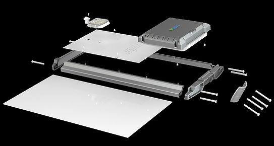 PBOX X5, el sistema mas robusto en iluminacion solar