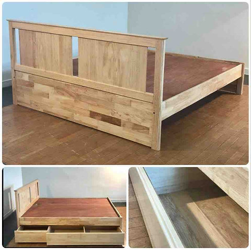 "6 Drawer King Bed  - 78"" x 72"""