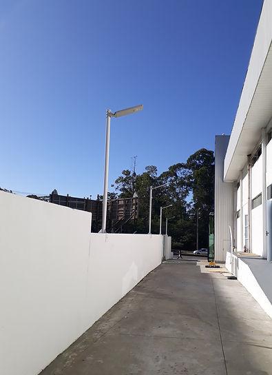 iluminaçao solar Itajai