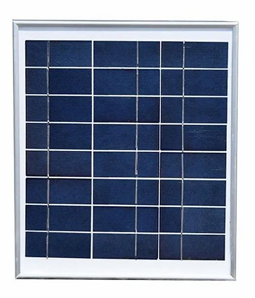 Painel solar 10w - 12v