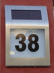 numeraço solar