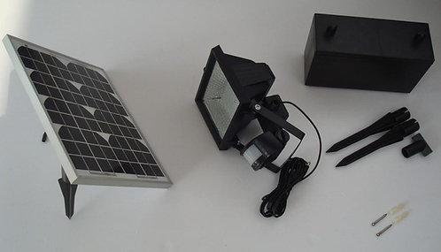 Refletor Solar 156 LED com sensor