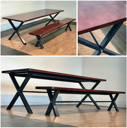 CHAD Dining Table & Bench