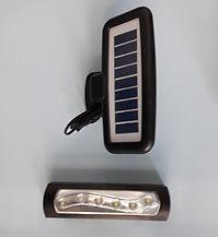 Luz de emergencia solar