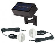 Kit iluminacion solar 2 lamparas 20 led