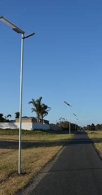 Iluminaçao solar em SC