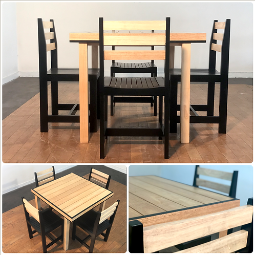 STANDARD Dining Table & 4 Chairs