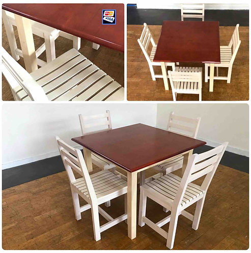 STANDARD Dining Table  4 Chairs