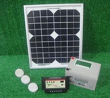 Kit iluminacion solar