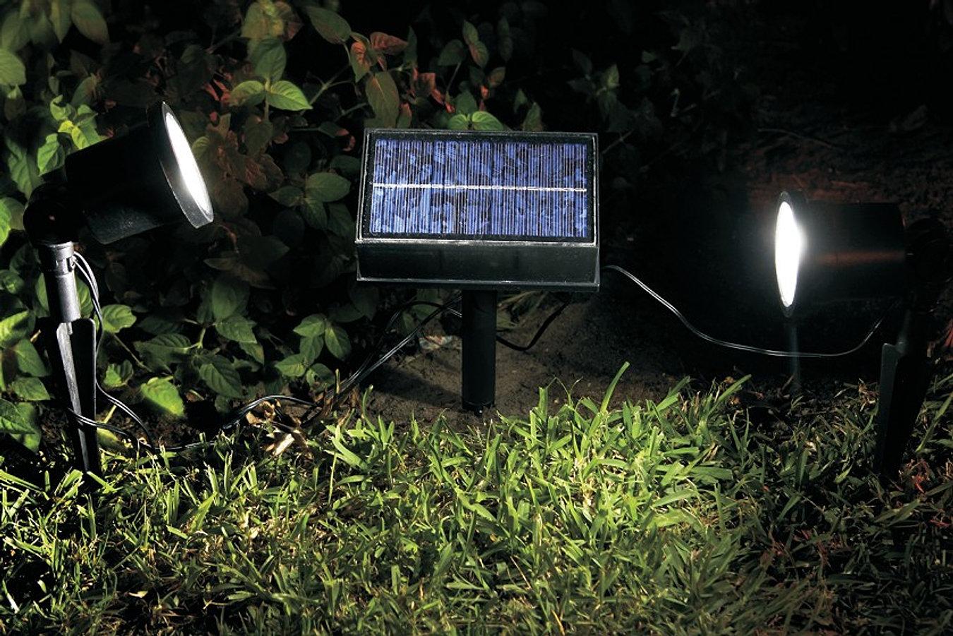 Adornos de jardin por energia solar for Iluminacion solar de jardin