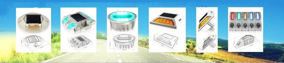Para marcacion de caminos, estacionamientos, entradas por medio de energia solar