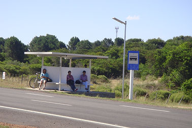 iluminacion solar en paradas de omnibus
