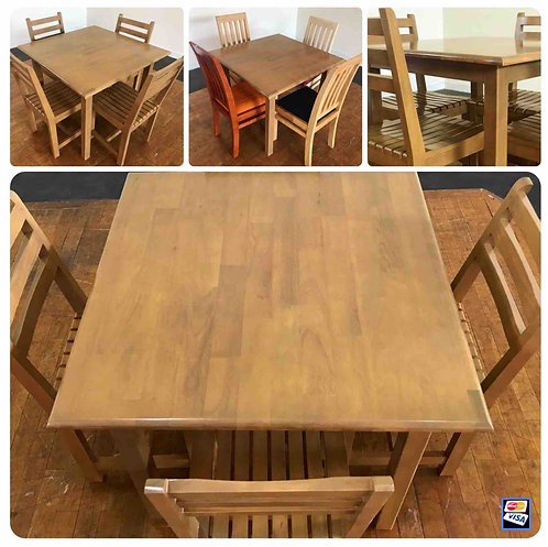 STANDARD Dining Set  Table & 4 Chairs