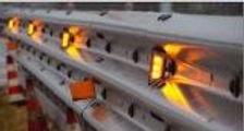 Mayor seguridad, con la instalacion de guarda raid con energia solar