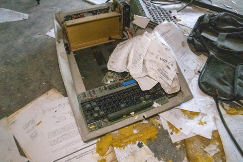 Abandoned Tech College