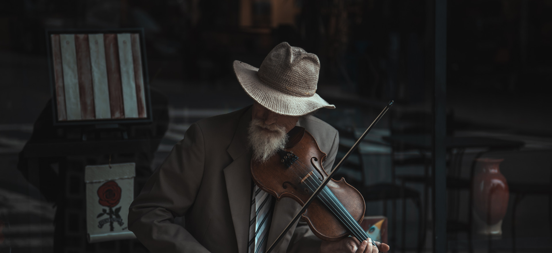 Fiddler of Haywood St.