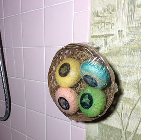 Soap...on the wall?