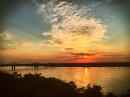 The Mississippi River from Natchez, Ms.