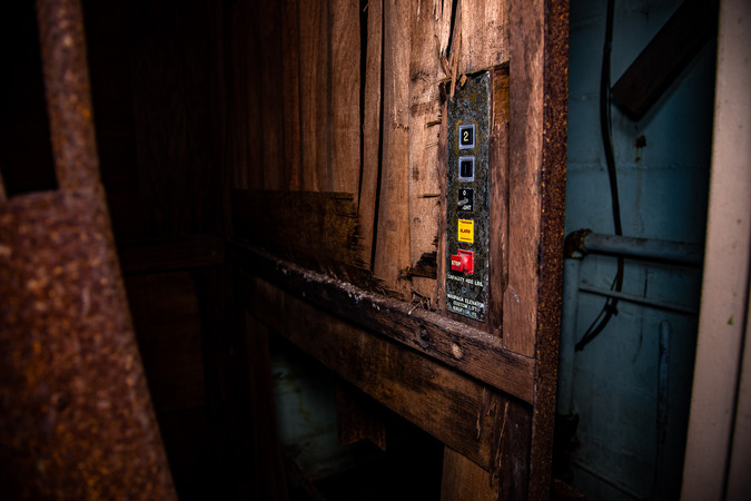 These elevator controls were the coolest ones I have found to date.