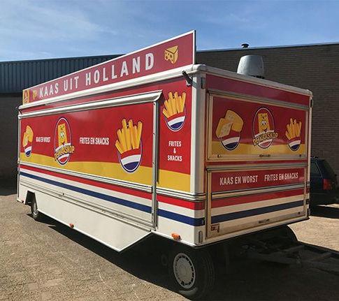 ontwerp / belettering food truck