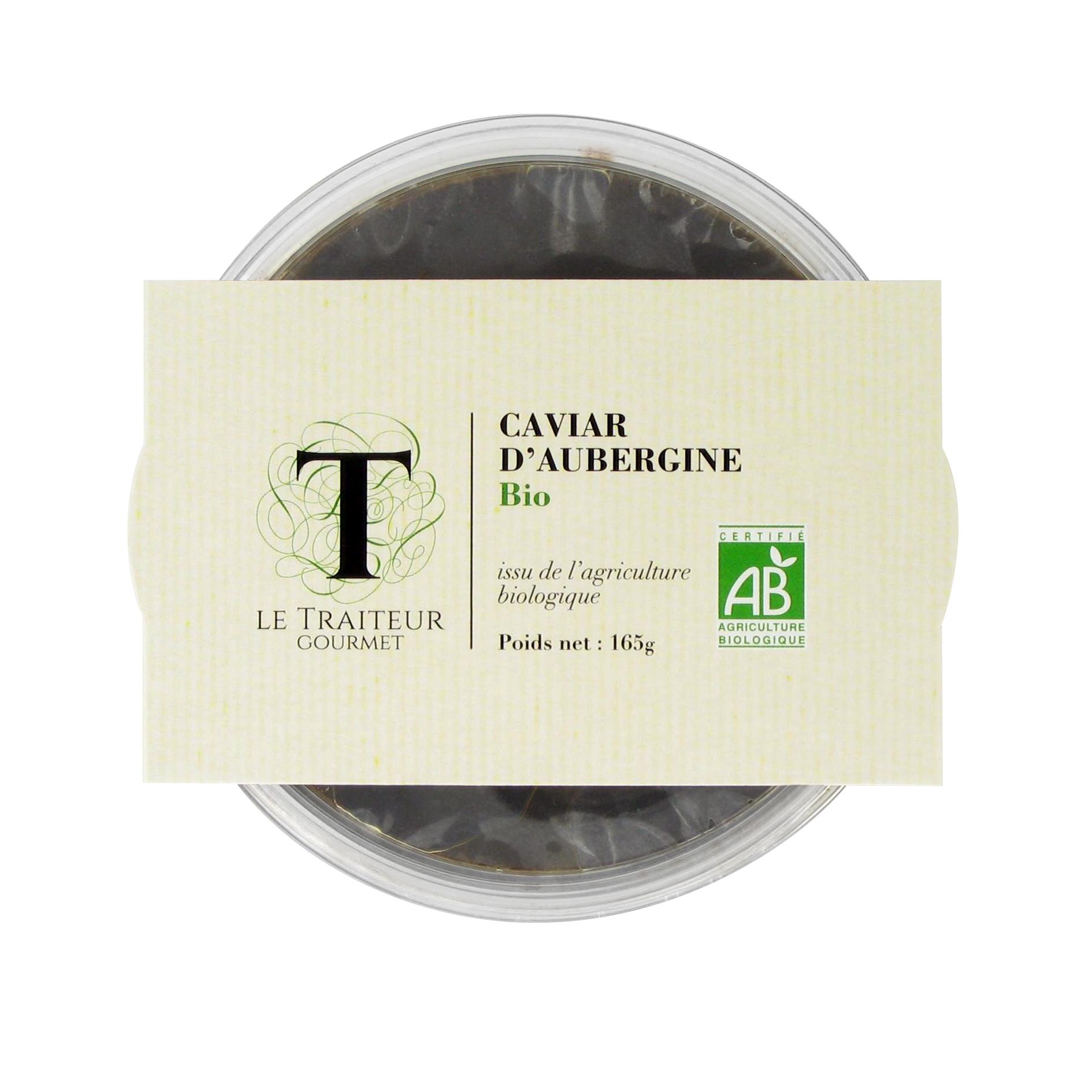 Le caviar d'aubergine Bio