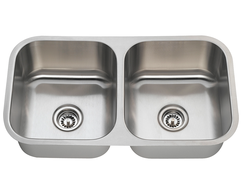 vertex stone   double sink - double bowl