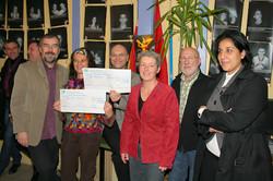Remise des chèques 2008