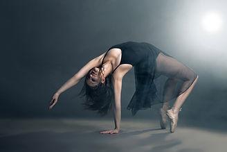 Ballerina in movimento