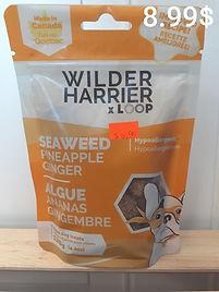 Wilder Harrier algue ananas gingembre .j