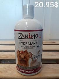 Zanimo Shampooing Hydratant hypoallergen