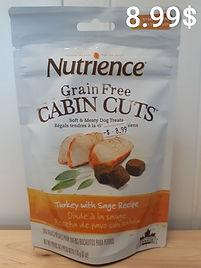 Nutrience cabin cuts dinde sauge .jpg