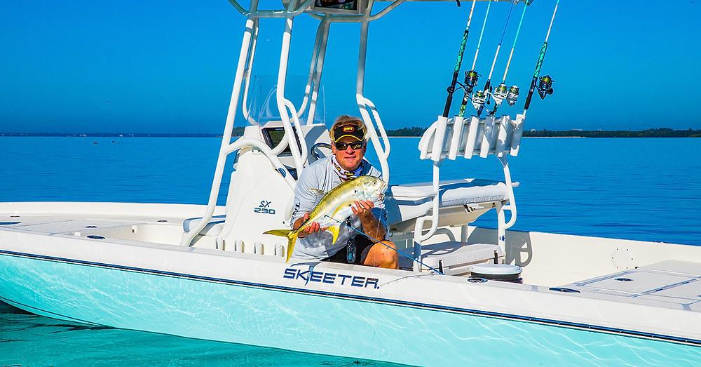 Capt Blair Wiggins in Skeeter SX 230