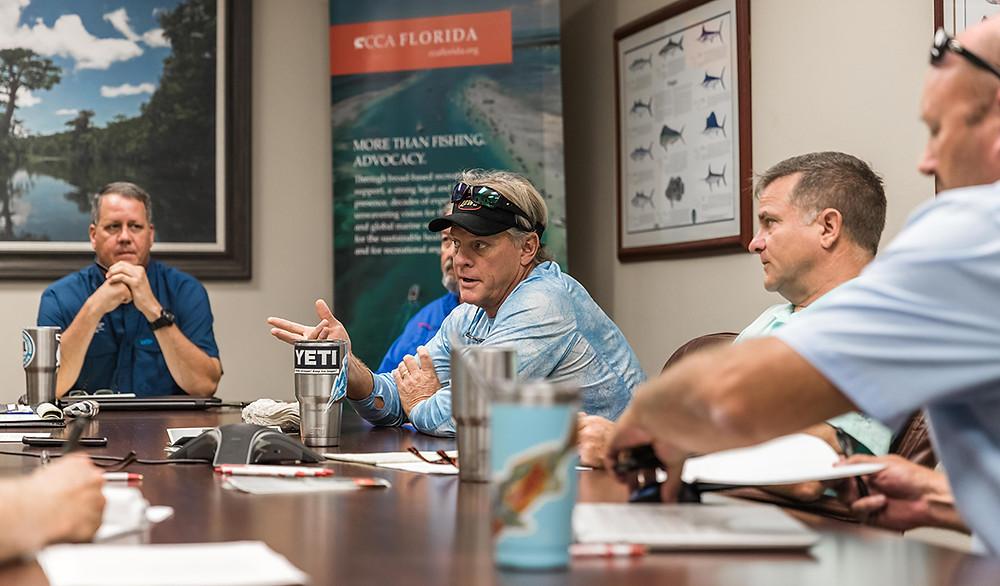 Capt Blair Wiggins CCA Florida IRL Clam Restoration Meeting