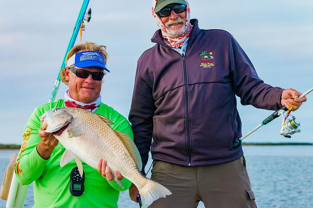 Capt Blair Wiggins and Capt Mark Nichols Redfish