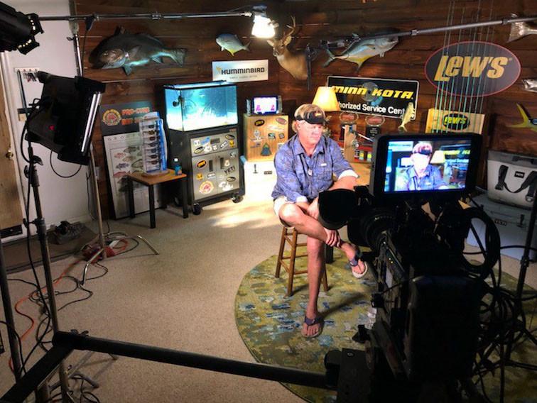 Capt Blair Wiggins On Set at MPI Studios