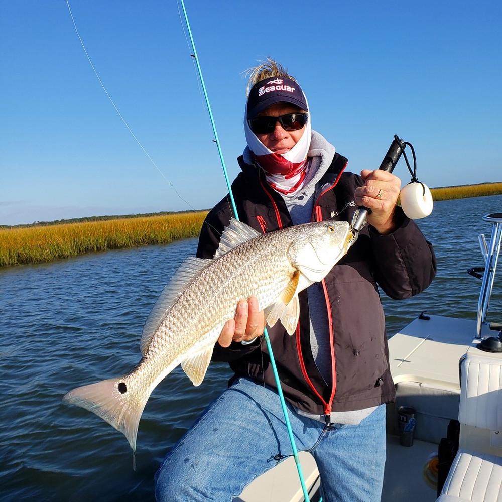 Capt Blair Wiggins Charleston Redfish