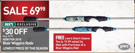 Capt Blair Wiggins Inshore Speed Sticks - $69.98