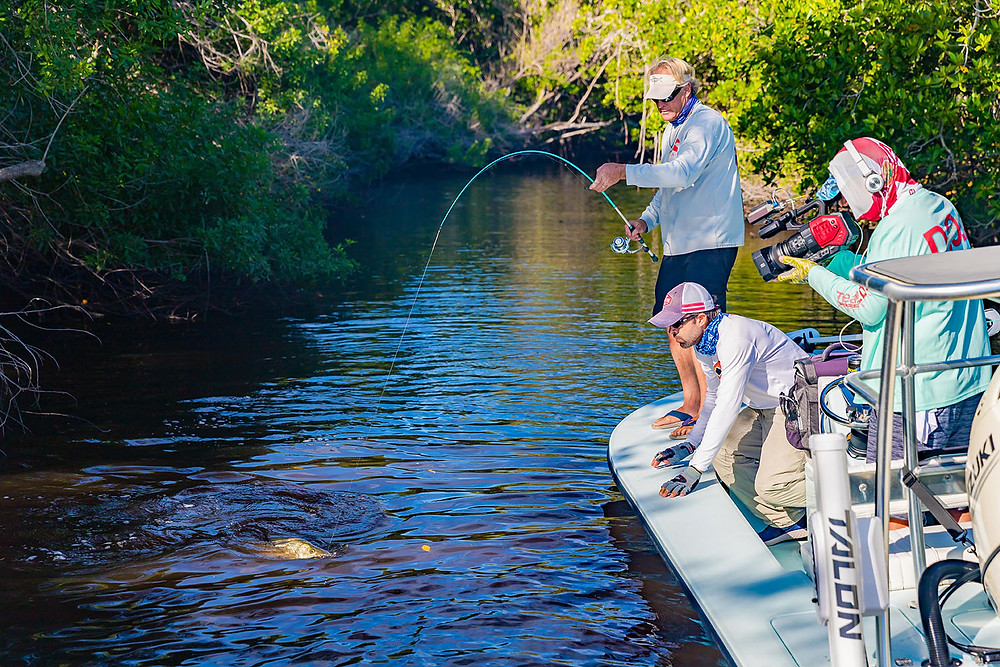Everglades Snook Fishing with Capt Blair Wiggins