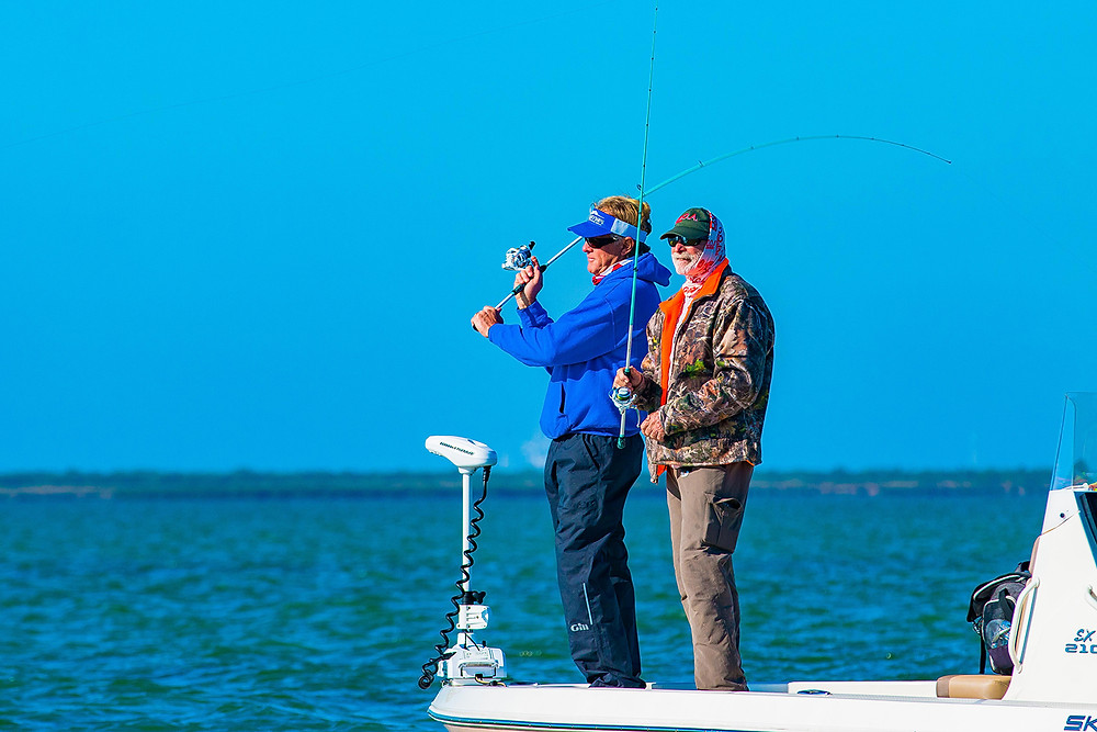 Capt Blair Wiggins and Capt Mark Nichols in Texas